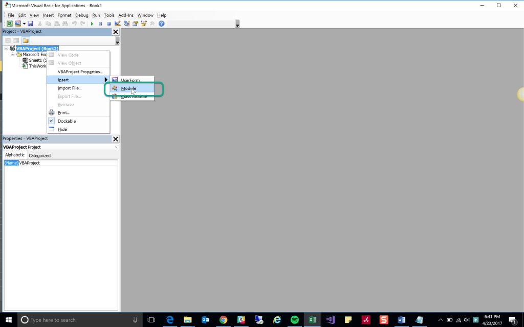 VBA Custom Excel Function
