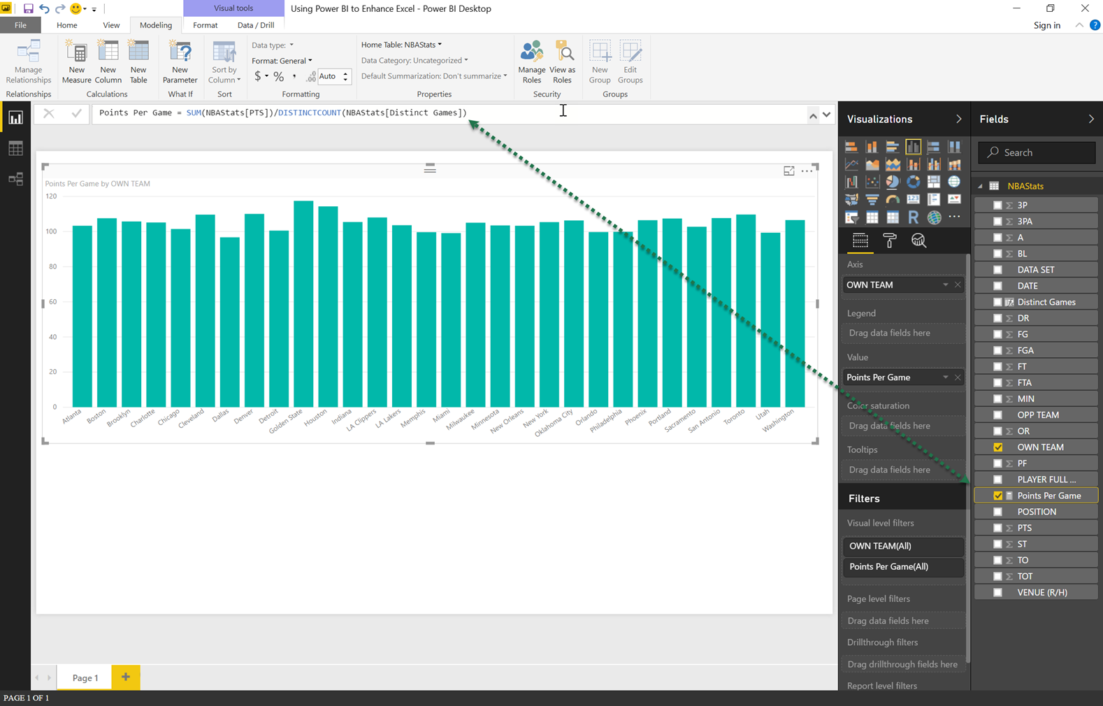 import data to power bi from excel